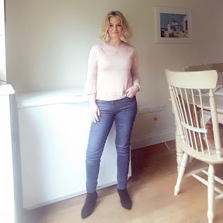 marks and spencer pink jumper