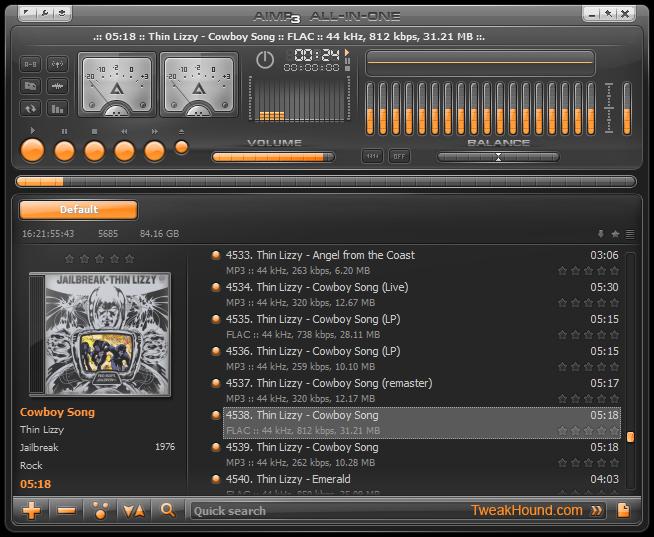 AIMP3 - Aplikasi Pemutar Musik PC Terpopuler