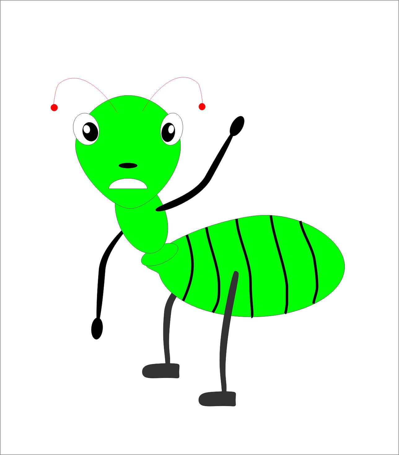 Semut Dan Merpati Cerita Tentang Semut