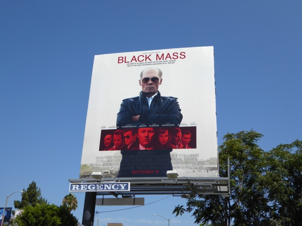 Black Mass movie billboard