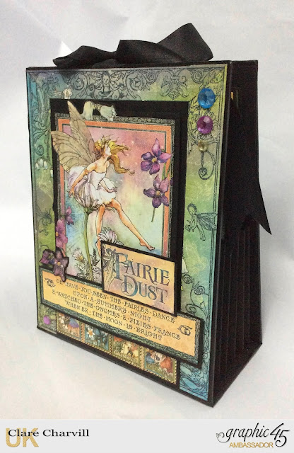Fairie Dust Accordion Album - February Kit My Creative Spirit