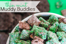 My Favorite Thin Mint Muddy Buddies Recipe