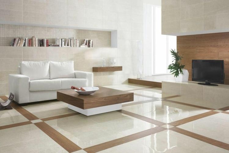 Fliesen Wohnzimmer Beispiele   moderne häuser mit satteldach
