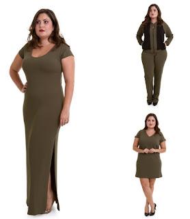 Moda Plus Size para loja de preço único