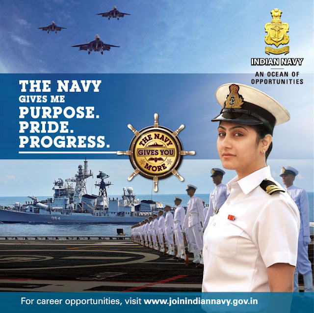 First Ever Indian Navy Single Entrance Test for Officers in September 2019