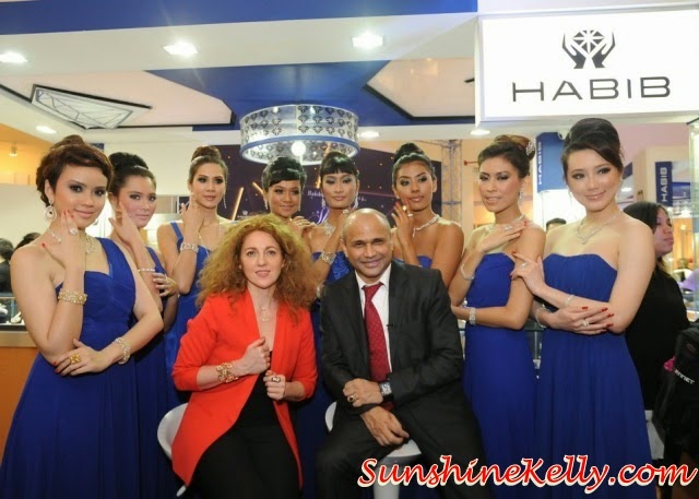 HABIB Diamond Fest 2014, Shoot For The Stars, habib, diamnond fest, Dato Meer Habib, luxury jewelry, Ilaria Lanzoni, Director of Design, Hearts On Fire