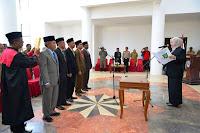Bupati Bima Lantik Sejumlah Pejabat Eselon II, Tajuddin Diplot Menjadi Staf Ahli