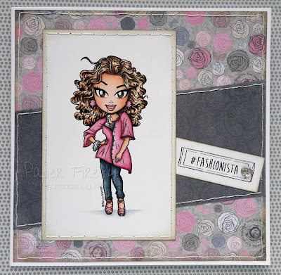 CAS card using Fashionista from KennyK