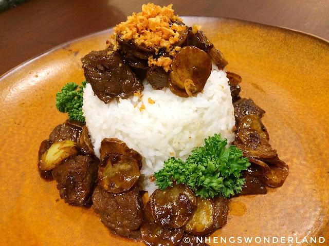 Bluesmith Coffee & Kitchen - Tenderloin Beef Salpicao