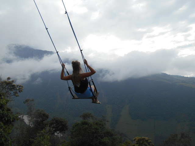 swing at the edge of the world