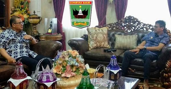 Gubernur Irwan dan Wagub Nasrul Abit Diskusi Terkait Mentawai