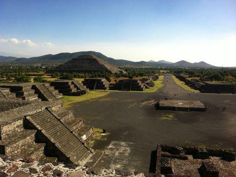Teotihuacan veduta