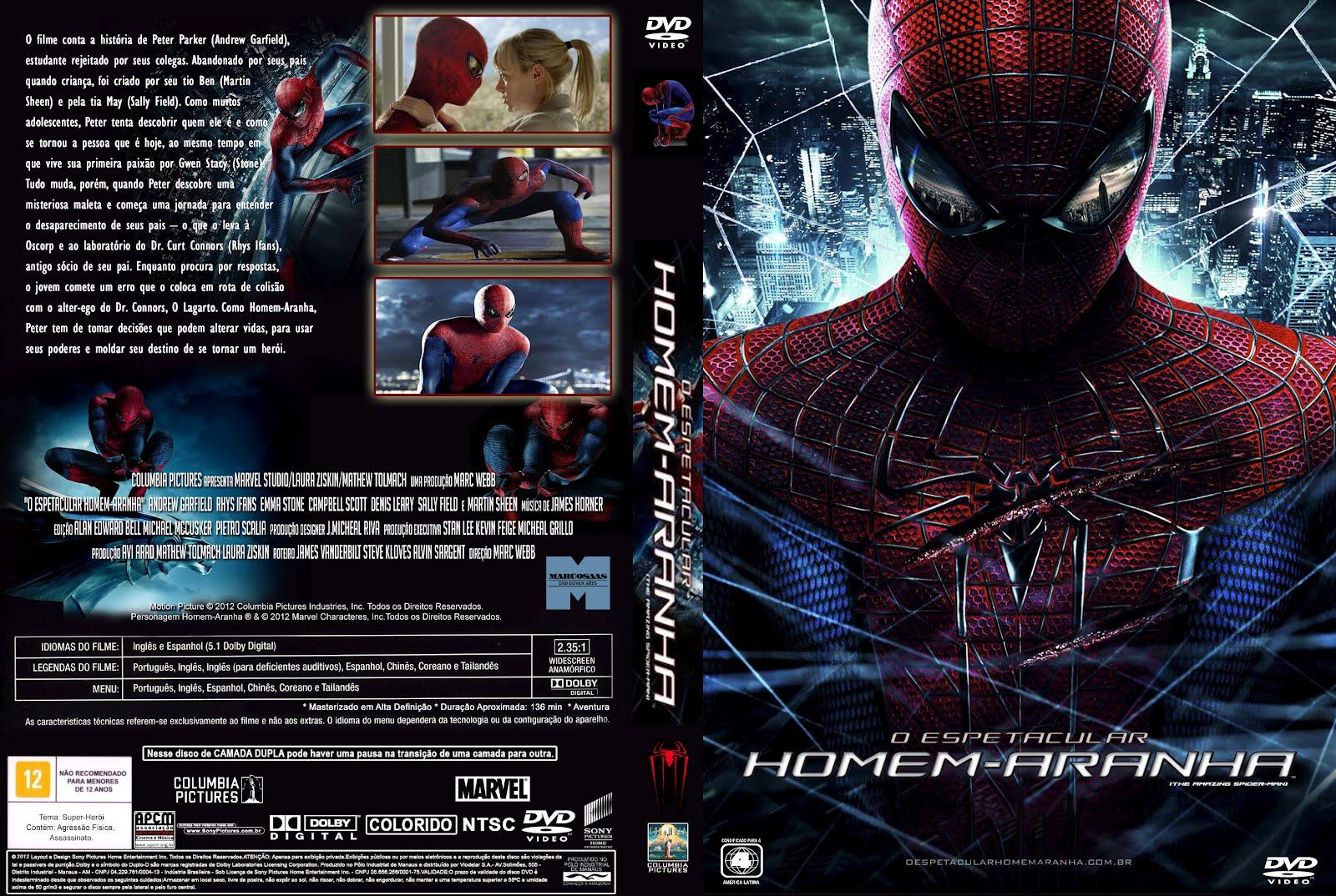 filme o espetacular homem-aranha dublado rmvb dvdrip