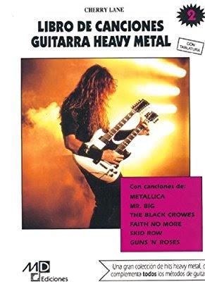 Método guitarra heavy metal cherry lane