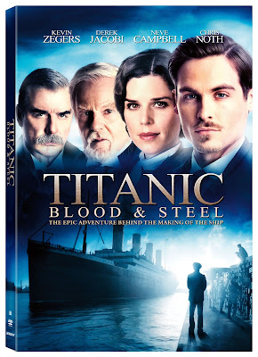 Titanic Blood And Steel S01 DVD R2 PAL Spanish