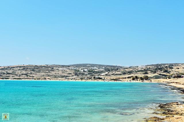 Pori Beach en Isla de Koufonisia, Grecia