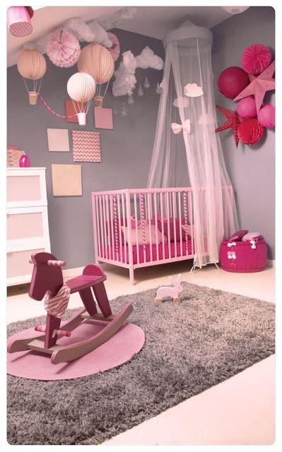 exemple chambre bébé fille