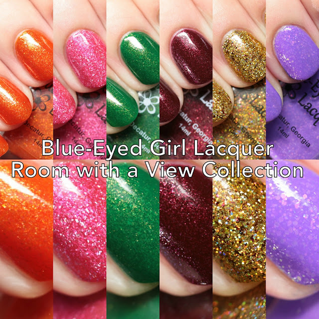 Blue-Eyed Girl Lacquer Room with a View Collection