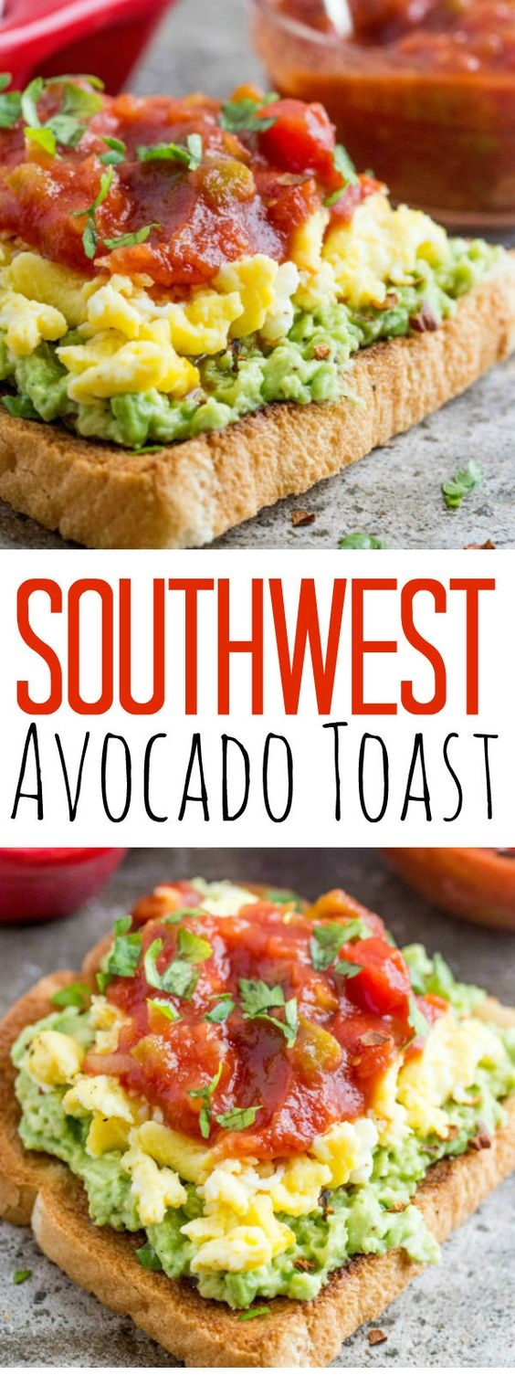 Southwest Avocado Toast