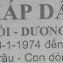 TỬ VI TUỔI GIÁP GIẦN 1974 NĂM 2017