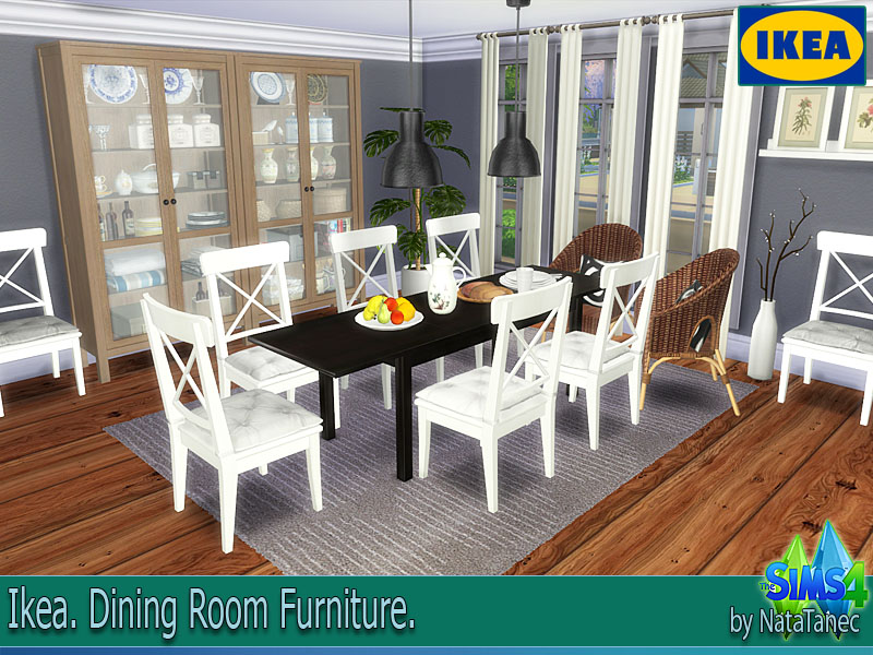 Corporation simsstroy the sims 4 ikea dining room for Sims 3 dining room ideas