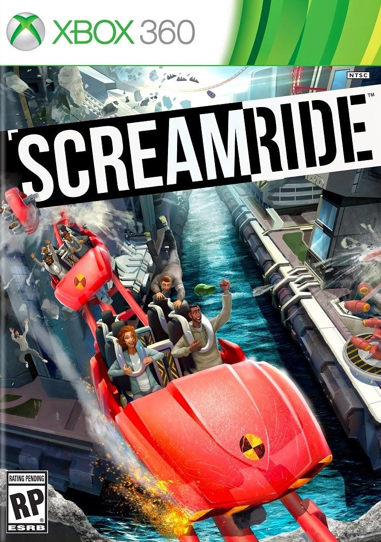 Screamride Cover Caratula XBOX 360