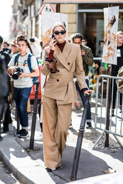 camel suit