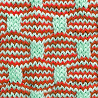 Learn Wave and Box Slip Stitch Pattern with our easy to follow instructions at HandKnittingStitches.com