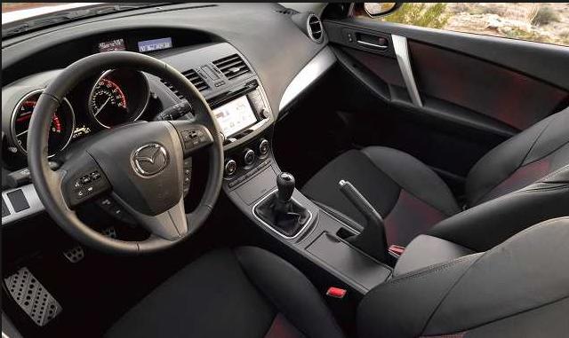 Mazdaspeed 3 2019 Interior Design
