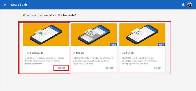Cara Memasang iklan Tautan Google Adnsense