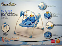 Baby Swing CocoLatte CL-B7502 Comfortable Multi Functional