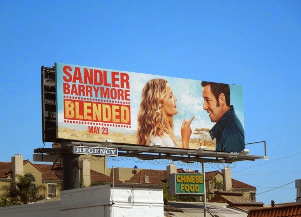 Blended film billboard