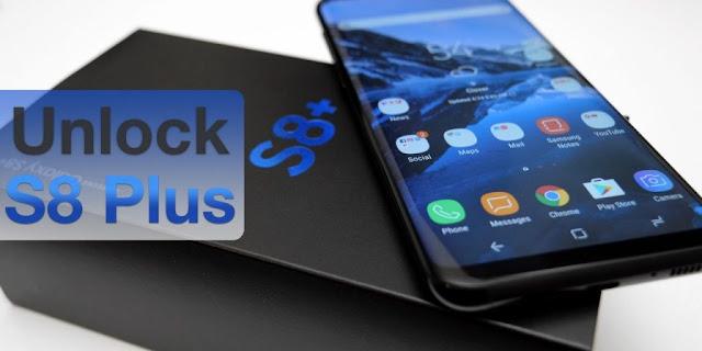 طريقة عمل Unlock لجهاز Galaxy S8 Plus SCV35 بدون بوكسات