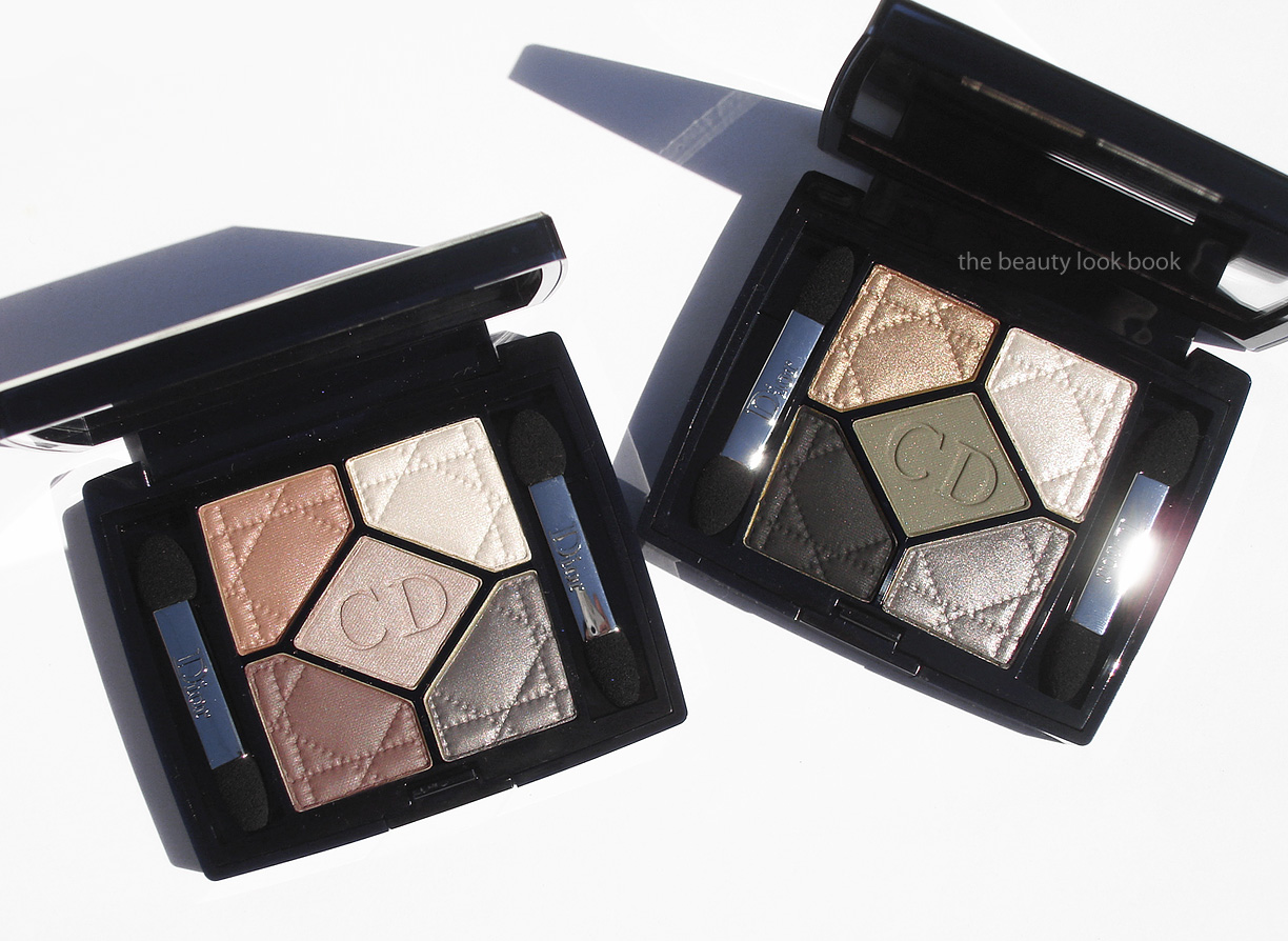 be54beee Dior New Look Collection 5-Colour Eyeshadows: Grège 734 and Royal ...