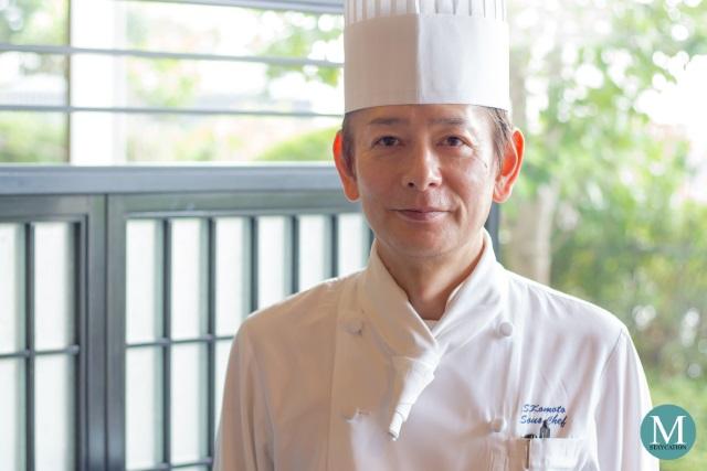 Chef Shingo Komoto of Minami Teppanyaki Restaurant at Swissôtel Nankai Osaka