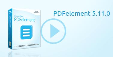برنامج Wondershare PDFelement لتشغيل ملفات PDF للكمبيوتر