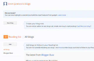 To Create a New Blog