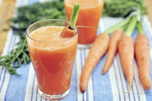 Cara membuat jus wortel campur susu low fat