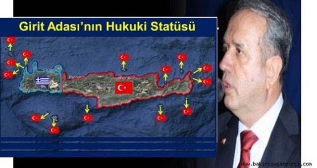 Τούρκοι που ονειρεύονται μια Κρήτη διαιρεμένη, όπως η Κύπρος