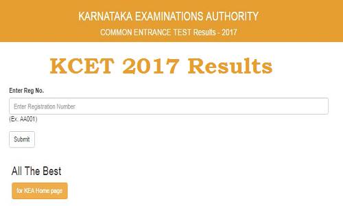 Karnataka CET 2017 Results