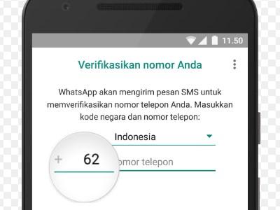 Solusi Gagal Verifikasi Nomer Hp Pada WhatsApp