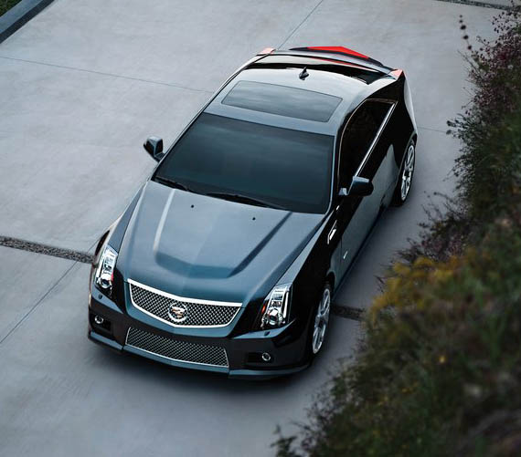 POWER CARS: Cadillac CTS-V Coupe, 2011