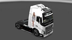 Jenifer Lopez Skin for Volvo 2012