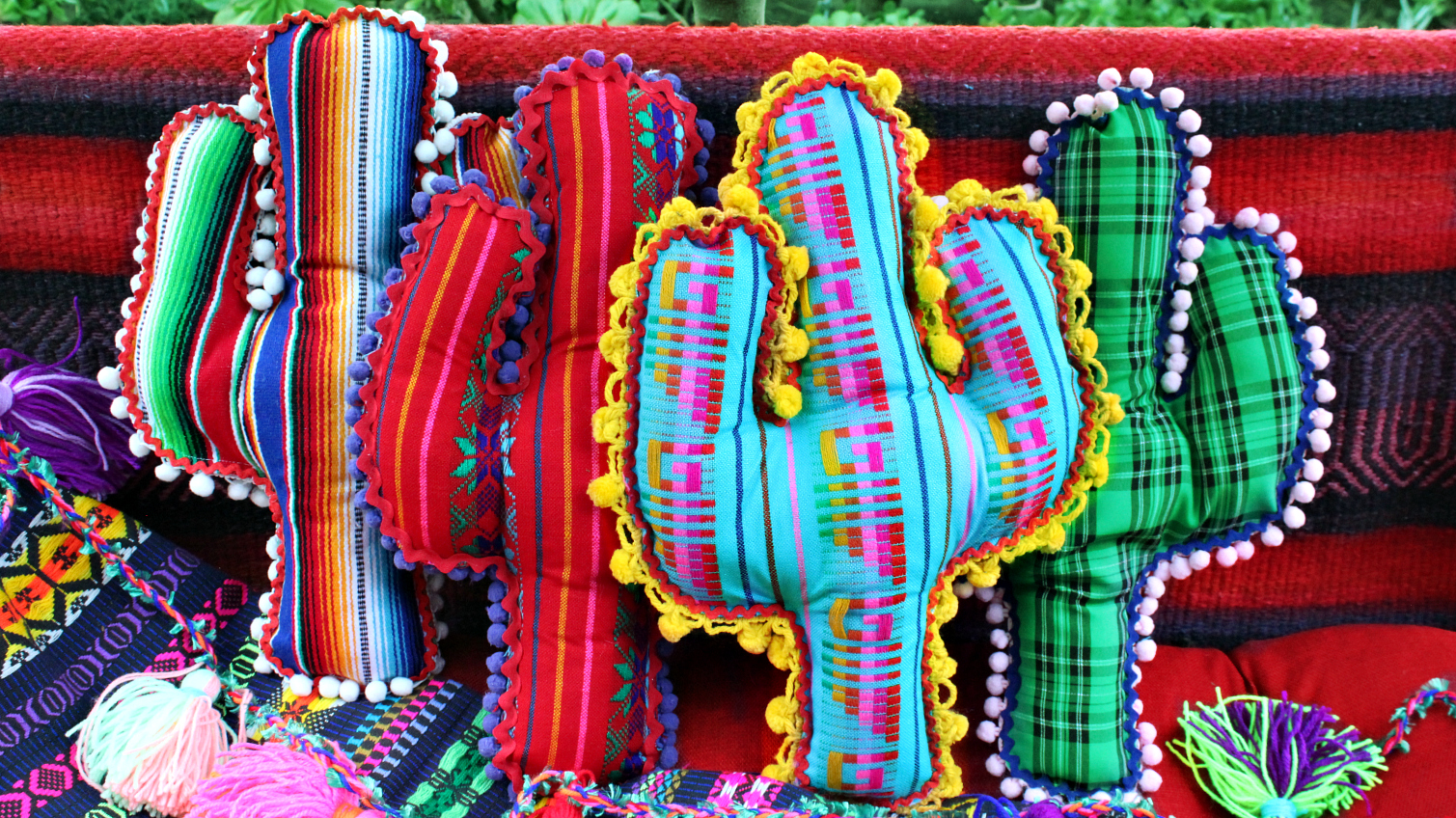 Mark Montano: No Sew Cactus Pillows