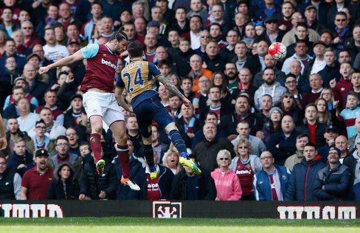 Premier League Match: West Ham 3 - Arsenal 3 (Full Time)