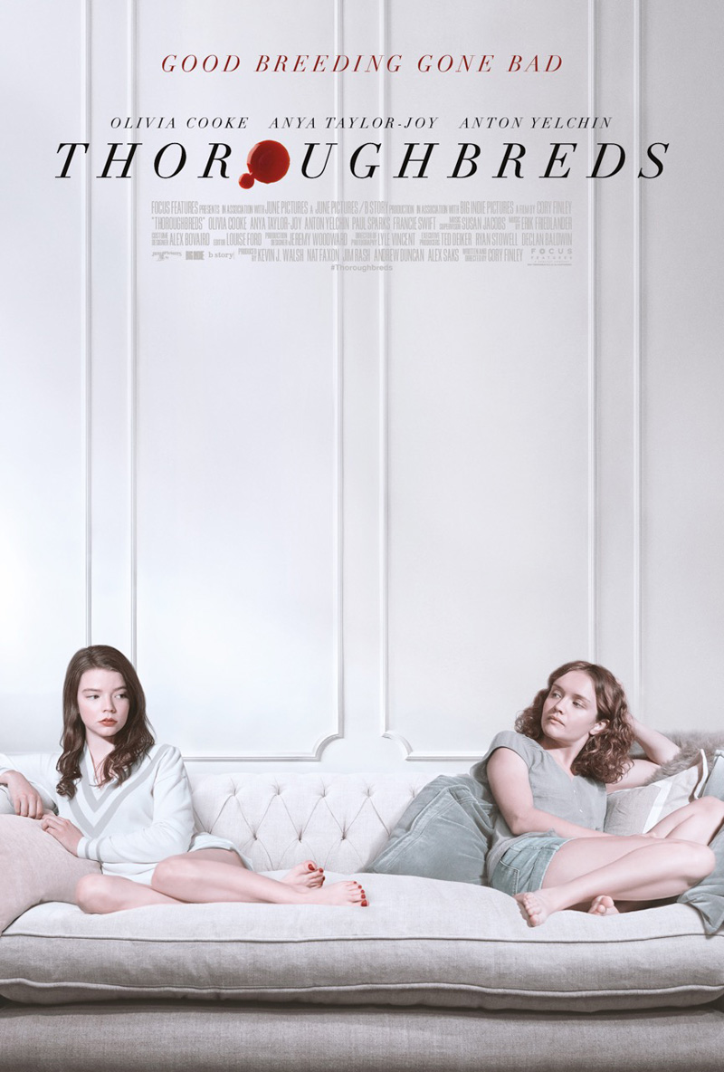 thoroughbreds film poster