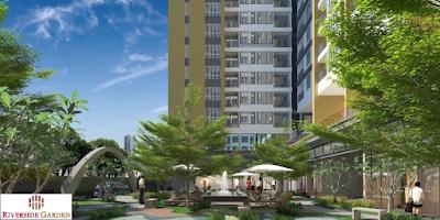 Không gian căn hộ Riverside Garden Vũ Tông Phan