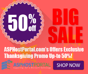 Cheap, Best and Trustable ASP.NET Hosting – Exclusive Thanksgiving Special Deals