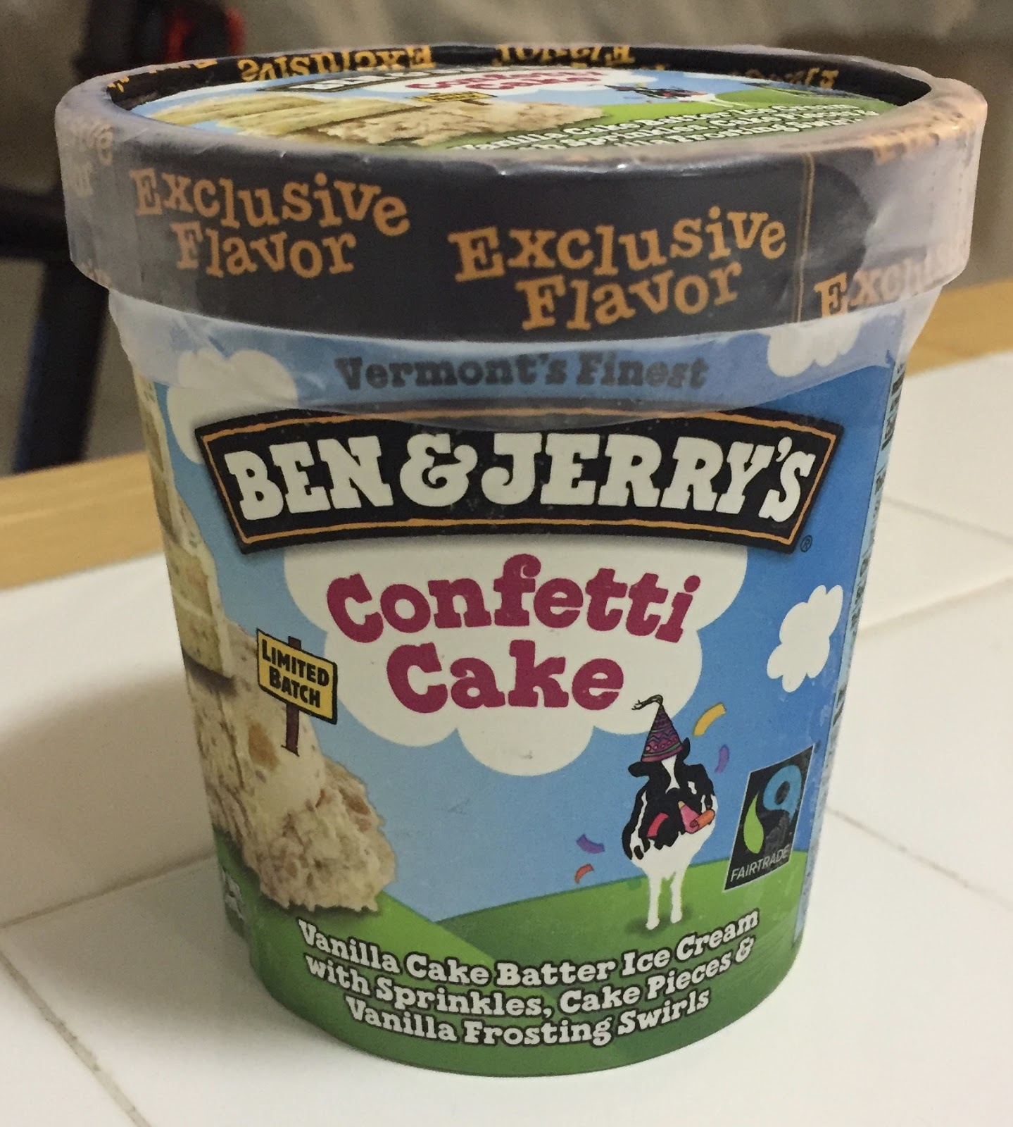 Confetti Cake Ben And Jerry S