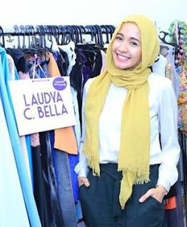 Baju Dan Hijab Modis Gaya Artis Laudya Chintya Bella